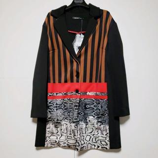 センソユニコ(Sensounico)の新品 センソユニコ アートな風格のあるロングジャケットコート サイズ40(その他)