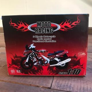 ラジコン MOTO RACING 1/10スケール(レッド)(トイラジコン)