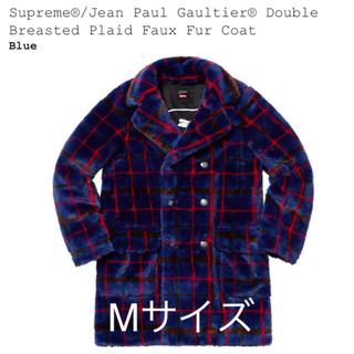 シュプリーム(Supreme)の999様専用Paul Gaultier Double PlaidFur Coat(毛皮/ファーコート)