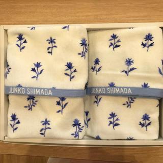 ジュンコシマダ(JUNKO SHIMADA)のジュンコ シマダ フェイスタオル2枚セット(タオル/バス用品)