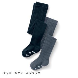 ベルメゾン(ベルメゾン)の☆新品未使用☆ 70〜80cm タイツセット(靴下/タイツ)