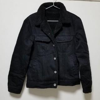 ジーユー(GU)のブラックデニムジャケット Gジャン(Gジャン/デニムジャケット)