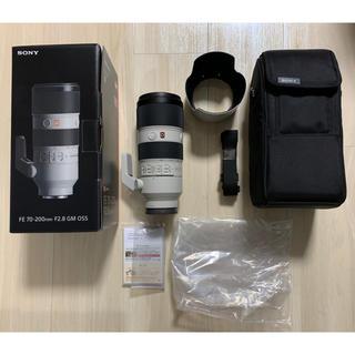 ソニー(SONY)の【極美品】SONY FE 70-200mm F2.8 GM OSS(レンズ(ズーム))