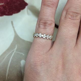 フルエタニティダイヤモンドリング 気まぐれお値下げ(リング(指輪))