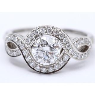 ハリーウィンストン(HARRY WINSTON)のハリーウィンストン リリークラスター リング 指輪 プラチナ x ダイヤモンド (リング(指輪))