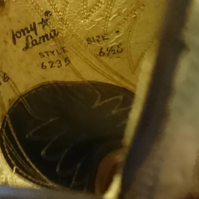 Tony Lama(トニーラマ)のTony Lama ブーツ メンズの靴/シューズ(ブーツ)の商品写真