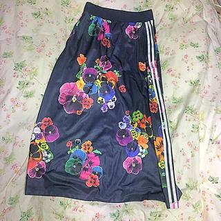 アディダス(adidas)のadidas アディダス ロングスカート オリジナル(ロングスカート)