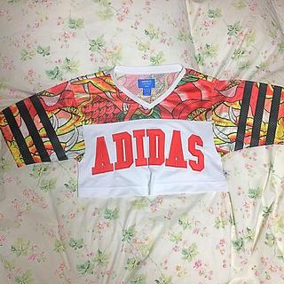 アディダス(adidas)のadidas originals RITAORA コラボショートTシャツ(Tシャツ(半袖/袖なし))