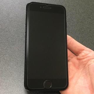 アイフォーン(iPhone)の美品 SIMフリー iPhone7 128GB matblack(スマートフォン本体)