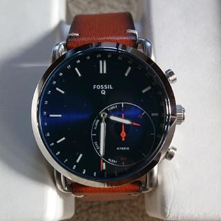 フォッシル(FOSSIL)のnao 様 専用 FOSSIL ハイブリッドスマートウォッチ ほぼ新品(腕時計(アナログ))