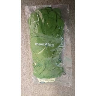 モンベル(mont bell)のウインドシェルグローブ Men's Lサイズ MDGN(手袋)