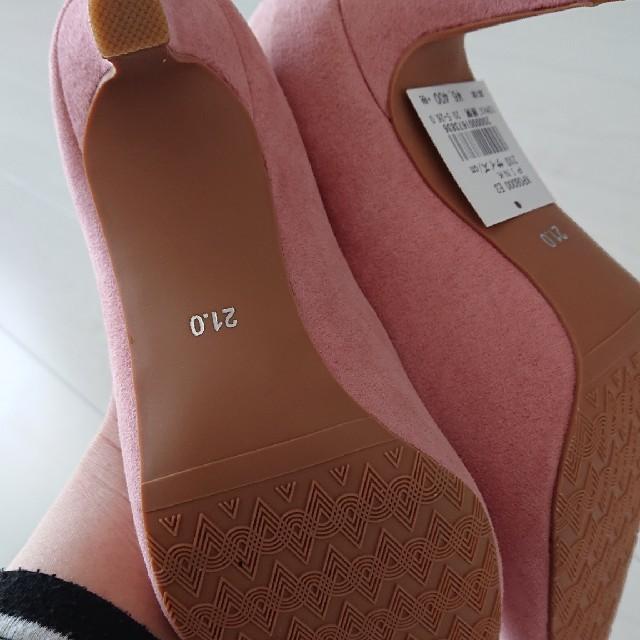 ピンクパンプス レディースの靴/シューズ(ハイヒール/パンプス)の商品写真