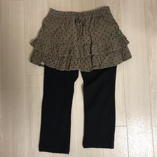 ニシマツヤ(西松屋)のスカッツ 100(スカート)
