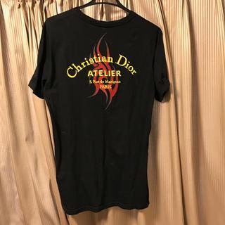 ディオールオム(DIOR HOMME)の本物ディオールオム刺繍アトリエTシャツATELIER半袖DIORHOMME正規品(Tシャツ/カットソー(半袖/袖なし))
