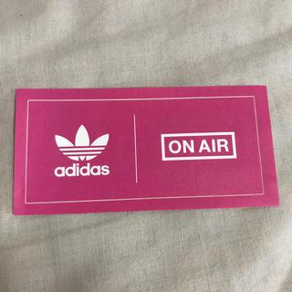 アディダス(adidas)のonair x adidas ステッカー(その他)