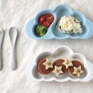 10mois  ディモワ mamamanma(マママンマ) プレートセット(離乳食器セット)