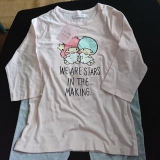 シマムラ(しまむら)の早い者勝ち!Little Twin Starsのパジャマ(七分袖・七分パンツ)(パジャマ)