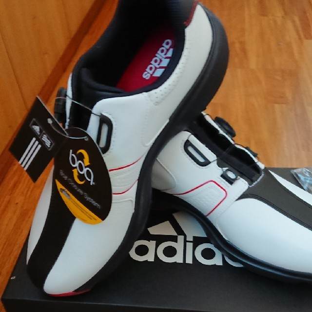 adidas(アディダス)の【新品】アディダス 360 traxion Boa WD 26.5cm スポーツ/アウトドアのゴルフ(シューズ)の商品写真