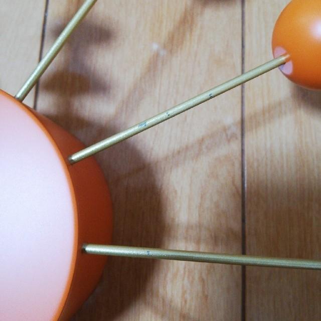 れい様専用 ジョージネルソン ボールクロック オレンジ   正規品 インテリア/住まい/日用品のインテリア小物(掛時計/柱時計)の商品写真