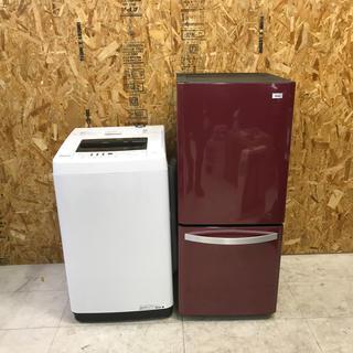 ハイアール(Haier)の地域限定送料無料!ハイアール×ハイセンス 家電2点セット 冷蔵庫 洗濯機(冷蔵庫)