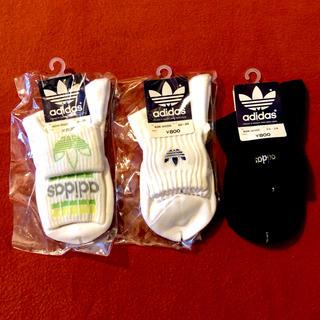 アディダス(adidas)の【セット・送料込み】adidas♡靴下 3点セット(ソックス)