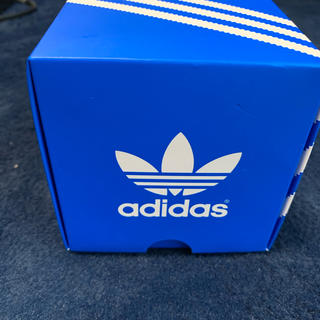 アディダス(adidas)のadidas 時計 ホワイト ブルー 箱あり(腕時計(アナログ))