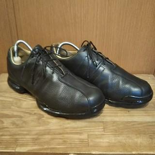 アディダス(adidas)のアディダスゴルフシューズ 高級本革 美品(シューズ)