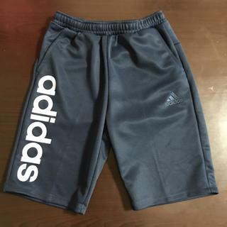 アディダス(adidas)の130㎝ adidas アディダス キッズ ハーフパンツ ネイビー×ライトブルー(パンツ/スパッツ)