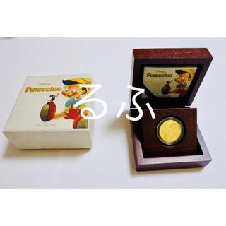 ディズニー(Disney)の2018年 ニウエ Niue ディズニー ピノキオ 1/4oz 金貨(貨幣)