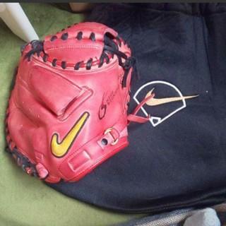 ナイキ(NIKE)のナイキ 城島モデル 少年軟式用 キャッチャーミット 野球 グローブ(グローブ)