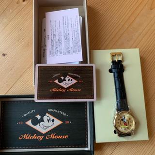 アパルトモンドゥーズィエムクラス(L'Appartement DEUXIEME CLASSE)のミッキー時計(腕時計)