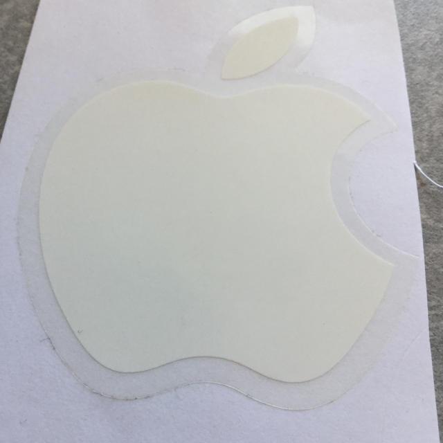 Apple(アップル)のApple アップル シール ステッカー 大小4枚 エンタメ/ホビーのコレクション(ノベルティグッズ)の商品写真
