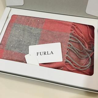 フルラ(Furla)の新品 未使用 FURLA フルラ  マフラー  ストール  ラインストン(マフラー/ショール)