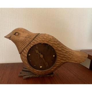 kiyata 鳥の置き時計(置時計)
