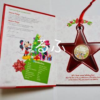 ディズニー(Disney)の2014年 ニウエ Niueクリスマス ディズニーコイン  銀貨 1/2オンス(貨幣)
