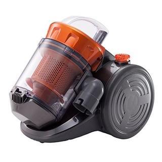 【新品未使用】ダイソン並!コンパクト サイクロンクリーナー オレンジ 89(掃除機)