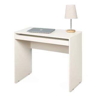 シンプルなパソコンデスク 省スペース・コンパクトサイズ(オフィス/パソコンデスク)