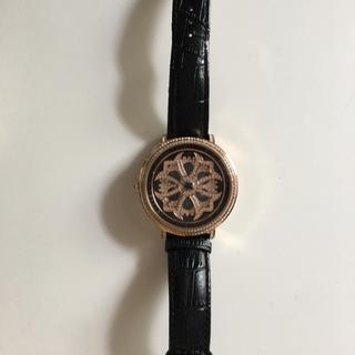 正規品アンコキーヌ 腕時計(レザーベルト)
