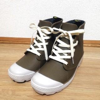 レインシューズ レインスニーカー レインブーツ スニーカー風 防水 靴 長靴(レインブーツ/長靴)