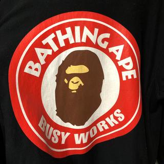 アベイシングエイプ(A BATHING APE)のa bathing ape パーカー L(パーカー)
