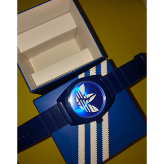 《最終値下げ》adidas watch blue