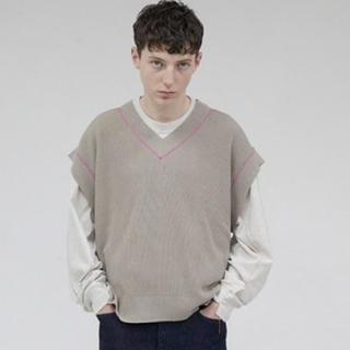 wonderland knit vest ニットベスト 2019SS(ベスト)