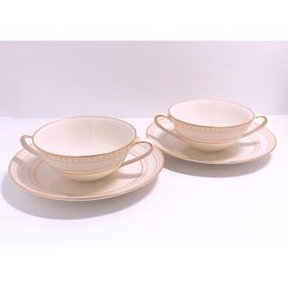 ノリタケ(Noritake)の専用 Noritake ivory china カップ&ソーサー 2客セット(食器)