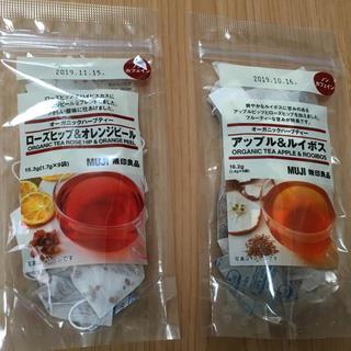 ムジルシリョウヒン(MUJI (無印良品))の無印良品 オーガニックハーブティー2袋セット(茶)