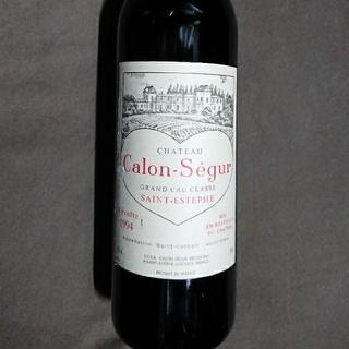サントリー(サントリー)のカロン・セギュール ヴィンテージ1994 未開封 新品(ワイン)