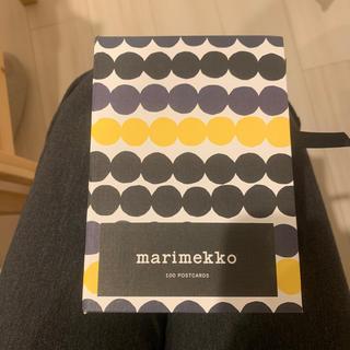 マリメッコ(marimekko)のマリメッコ ポストカードボックス 100枚入り(カード/レター/ラッピング)