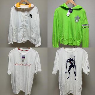 ジーユー(GU)の新品 EVANGELION エヴァンゲリオン 4点セット Tシャツ パーカー (パーカー)
