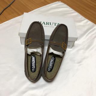 ハルタ(HARUTA)のHARUTA 本革ベルト付ローファー 24.5/3E 定価11880円(ローファー/革靴)