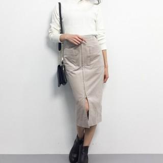 ノーブル(Noble)の【ゆうさま専用】ノーブル フープジップタイトスカート(ひざ丈スカート)