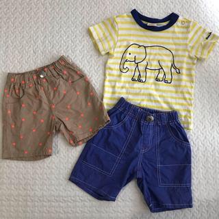 ムージョンジョン(mou jon jon)のムージョンジョン Tシャツ&ショートパンツまとめ売り80&90(パンツ)